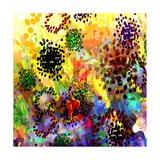 Mini Color Bursts Art by Ruth Palmer