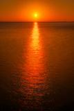 Waterfront Sunrise Fotografie-Druck von Steve Gadomski