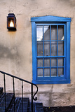 Blue Window, Santa Fe, New Mexico Photographic Print by George Oze