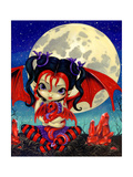 Ruby Moon Poster par Jasmine Becket-Griffith