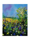 Landscape With Cornflowers 459060 Stampe di Pol Ledent