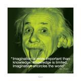 Albert Einstein: Imagination Plakat