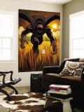 Black Panther No.1 Cover: Black Panther Bildtapet av John Romita Jr.