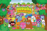 Moshi Monsters Landscape Prints