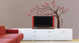 Japanese Tree Wall Decal Sticker Adesivo de parede