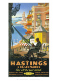 Hastings Basket Weaver Giclée-vedos