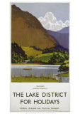 Grasmere Lake District Giclée-Druck
