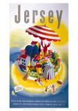 Jersey, BR, c.1948-1965 Lámina giclée por  E. Lander