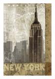 Un automne à New York Posters par Keith Mallett