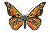 Bentwood Butterfly Pósters por Matt James