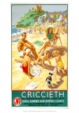 Criccieth, the Caernarvonshire Resort Facing South Giclee Print