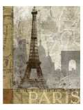 April In Paris Posters by Keith Mallett