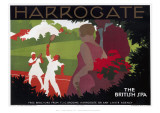 Harrogate, the British Spa Giclee Print