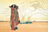 Spirits of the Plains Lámina por Maxine Noel