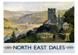 North East Dales Giclée-vedos