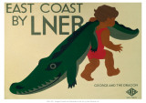 East Coast by LNER Giclée-tryk