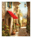 The Red Awning Posters por Steven Harvey