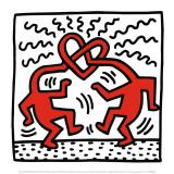 Untitled, c.1989 Kunst von Keith Haring