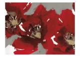 Red Poppy Forest I Konst av Natasha Barnes