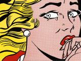Crying Girl, c.1963 Plakater af Roy Lichtenstein