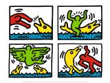 Pop Shop V Plakater af Keith Haring