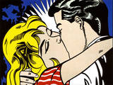 Kiss II, c.1962 Poster by Roy Lichtenstein