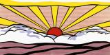 Auringonnousu, n. 1965 Posters tekijänä Roy Lichtenstein
