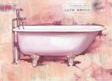 Bath Collage IV Pôsters por  Cano