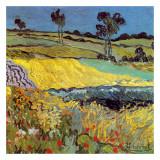 La Plaine D'Auvers Posters by Vincent van Gogh