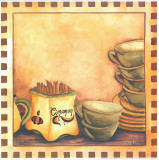 Cinnamon And Cups Kunstdrucke von  Urpina