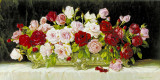 Classic Rose Bowl Prints by E. Kruger