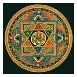 OM II Pósters por Tibetan Monk