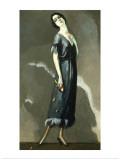 Portrait de Madame Maria Ricotti Poster av Kees van Dongen