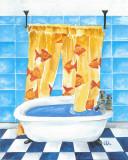 Bathroom II Poster di Lewman Zaid