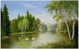 Beautiful Lake Plakater af Helmut Glassl