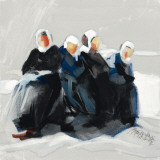 Les Frileuses Plakater af Maryvonne Jeanne-Garrault