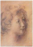 Antique Portrait IV Poster di Lewman Zaid