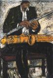 Jazz Kunstdruck von Andrée Vézina