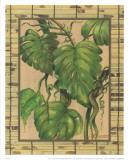 Tropical Plant II Print by L. Romero
