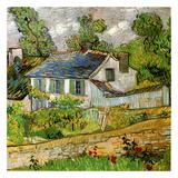 Maison a Auvers Kunst von Vincent van Gogh