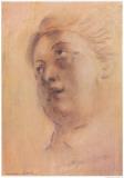 Antique Portrait II Poster di Lewman Zaid