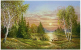 Gorgeous Sunset Posters af Helmut Glassl