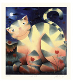 Love Cat Premium-Edition von Mackenzie Thorpe