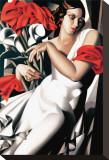 Portrait d'Ira Toile tendue sur châssis par Tamara de Lempicka