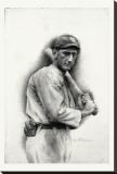«Shoeless» Joe Jackson Toile tendue sur châssis par Allen Friedlander