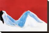 Nu rouge Toile tendue sur châssis par Nicolas De Staël