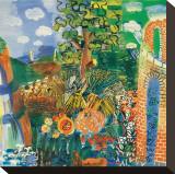 Composition, 1924 Trykk på strukket lerret av Raoul Dufy