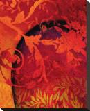 Georgia Cochineal III Bedruckte aufgespannte Leinwand von Michael Timmons