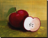 Country Apples Stretched Canvas Print by Petra Kirsch