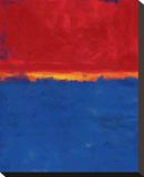 Fugue by Leonardo I Bedruckte aufgespannte Leinwand von Carmine Thorner